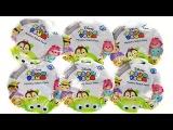 TSUM TSUM DISNEY! Мультфильмы ДИСНЕЙ СЮРПРИЗЫ с игрушками Mikki Mouse, Frozen Surprise unboxing