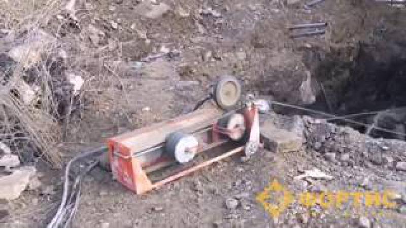 Канатная машина RSS-001 дает жару в Екатеринбурге