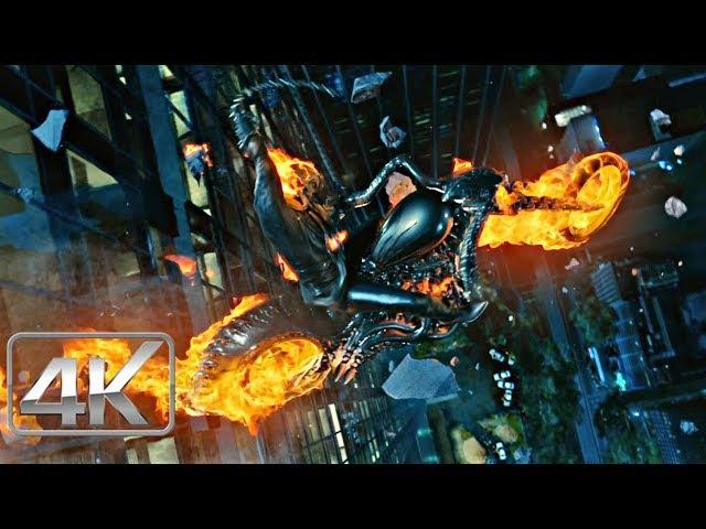 Ghost Rider Vs Abigor ''Limpiando El Aire | LATINO (4k-HD) | Ghost Rider 2007