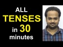 Learn ALL TENSES Easily in 30 Minutes Present Past Future Simple Continuous Perfect