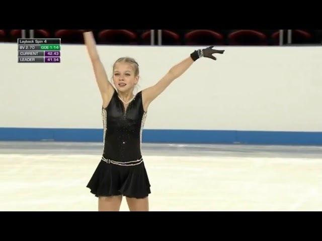 Чемпионат мира среди юниоров 2018 КП Александра Трусова