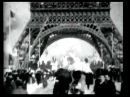Panorama of Eiffel Tower (1900) - 1st Camera Tilt - James H. White | Thomas Edison