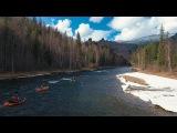 Три сезона реки Мана Packrafting in Siberia