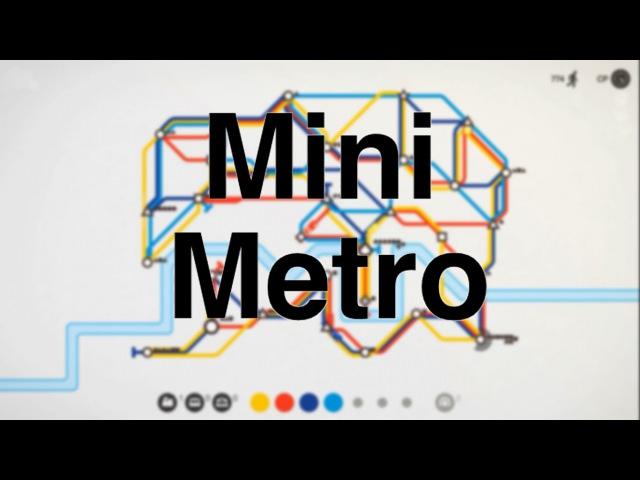 ПРОВОДИМ СТАНЦИИ МЕТРО | Mini Metro | ЛОНДОН И ПАРИЖ