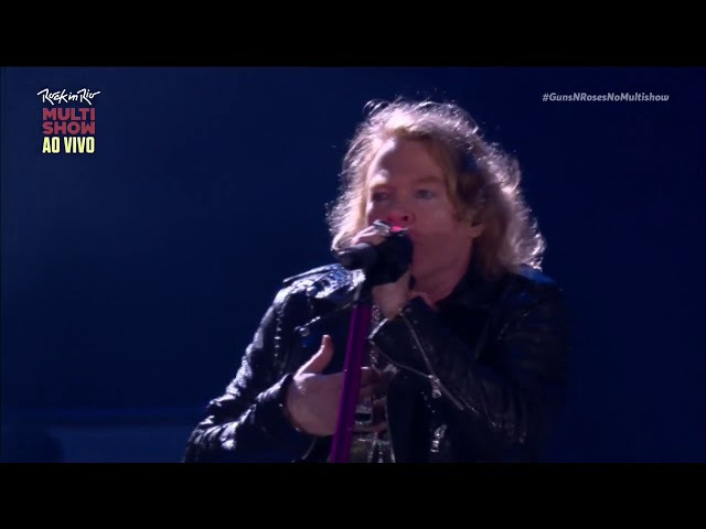 Guns N' Roses - Rock In Rio 2017 (MULTISHOW) [FULL]