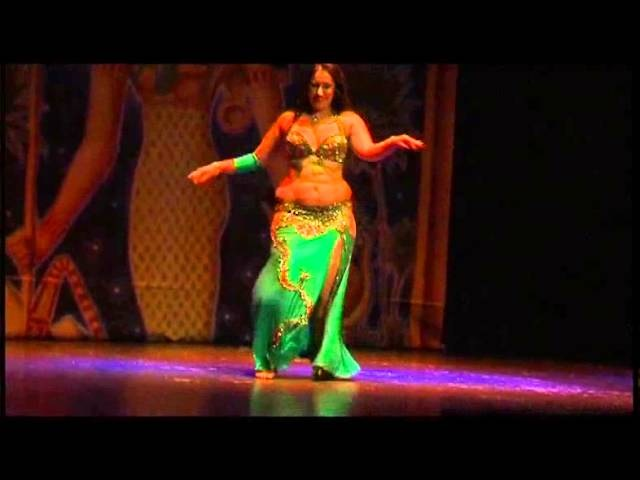 AYSHA E LE FIGLIE DI RA IN BELLYDANCE AROUND THE WORLD ASSOLO AFRAH CON ASHRAF