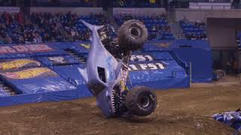 Monster Jam Wilkes Barre Highlights - Triple Threat Series East - Feb 9-11, 2018