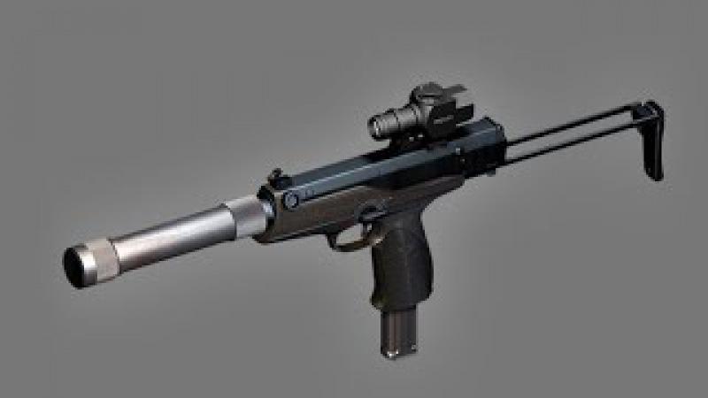 AEK 919K самый лучший пистолет пулемет в мире каштан