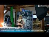 Bravo Models Media - Prague - photo shoots backstages - porn model FLORANE RUSSEL - 08