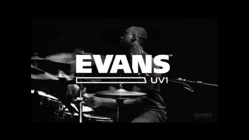 Larnell Lewis Drum Solo   EVANS UV1