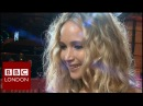 Jennifer Lawrence 'Red Sparrow' interview - BBC London News