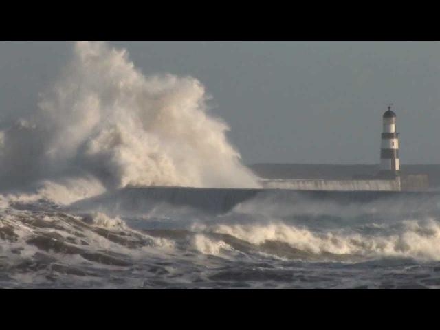 Storm Surge, Seaham, County Durham