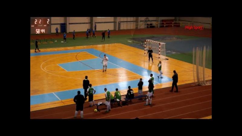 Футзал Вища ліга АФС КомпСервис СумДУ 2 Сервіс Люкс HighSportLive HSL