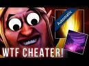 Dota 2 Cheater detected! WTF INVOKER Scripter with AUTO Sun Strike Tornado more!