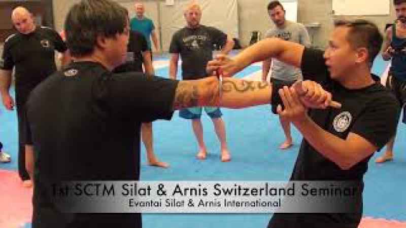 1st SCTM Silat Arnis Switzerland Seminar 2017