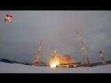 С космодрома Плесецк стартовала Ракета с военным спутником