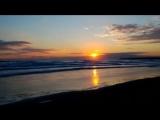 Amanecer en la Playa de Gandia