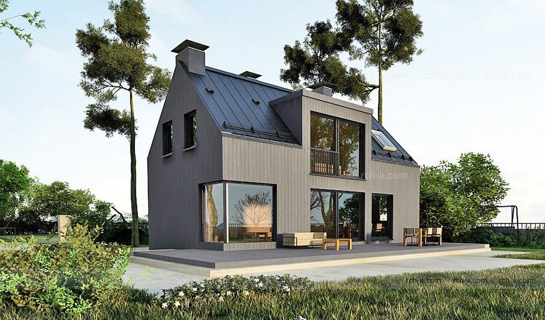 Минимальный свес крыши или крыша без свеса?