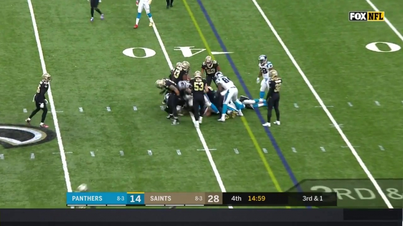 Cam Newton Tosses 2 TDs vs. New Orleans! _ Panthers vs. Saints _ Wk 13 Player Highlights