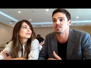Interview with kristin kreuk  jay ryan of the cws beauty and the beast at comic-con 2013