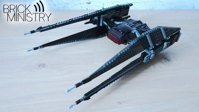 LEGO®Star Wars ● 75179 ● TIE Истребитель Кайло Рена