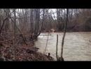 Разлилась река всего за одну ночь
