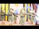 Танец Синий платочек 9 мая 2018 год Искорки