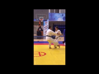 Дмитрий Носов vs Лейла Мамедова. Урок от Мастера Дзюдо
