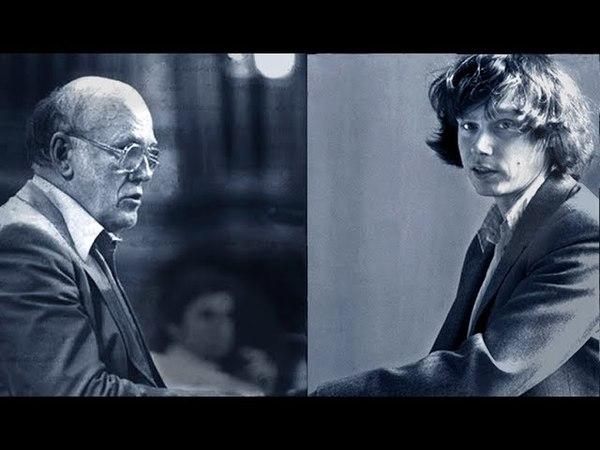 Richter Kocsis Schubert for Piano Four Hands Tours 1977