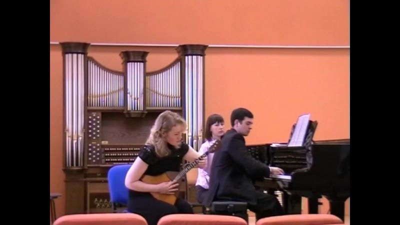 Комендарова Айно, концертмейстер Виталий Гайдотин Шалов - Тёмно-вишнёвая шаль