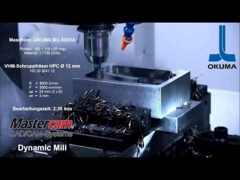 Mastercam Dynamic Mill