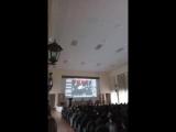 Мероприятие с Мирей Матье в институте русского языка и литературы