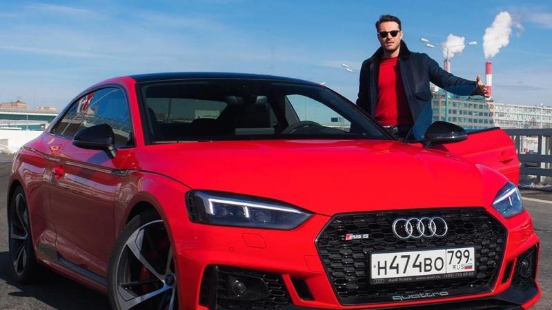 Евгений Пронин и Audi RS5