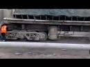 Выгрузка грузового вагона закончилась полным провалом
