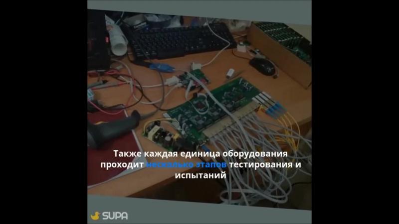 Производство Ethernet-коммутатора доступа модели MES1124MK