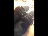 Проклейка обуви этап 2