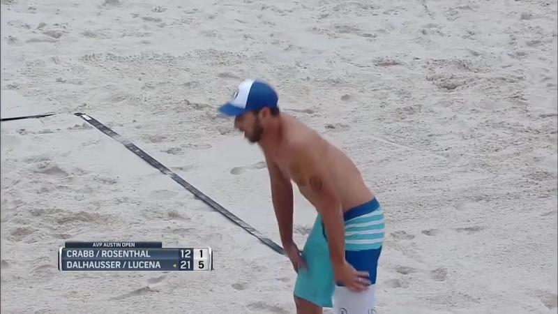 AVP Austin Open 2017 Mens Finals- Dalhausser-Lucena vs Crabb-Rosenthal5