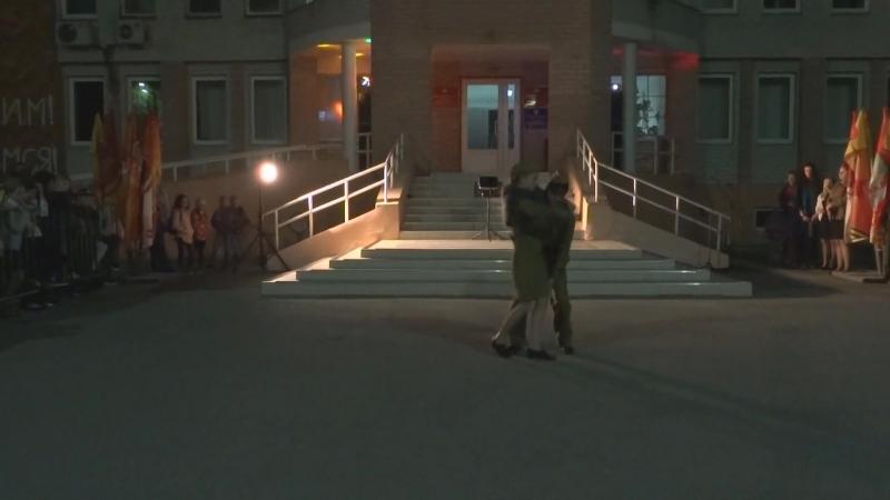 09.05.2018. п. Молодёжный - КАСКАД - Военный вальс