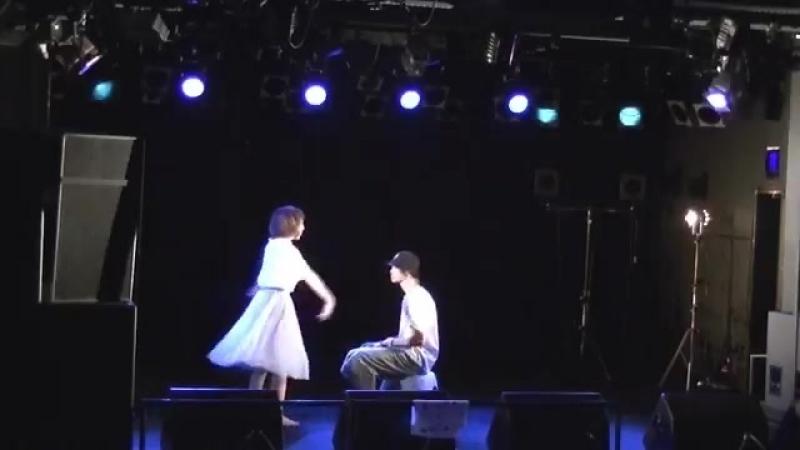 りたちゃん(@lita_dance)と 君はできない子 踊りました( •̀∀•́ )✧ - NDP石川 httpst.co_QS7LF0Y2pt ( SQ )
