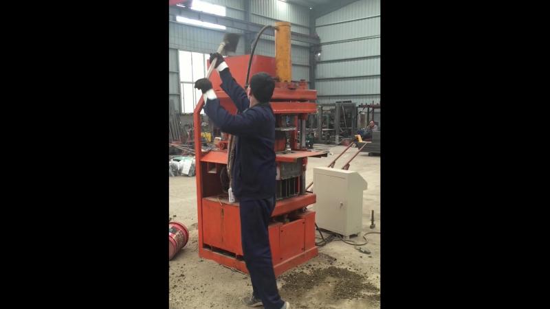 SYN1-5 automatic clay lego interlocking block machine, small brick production line