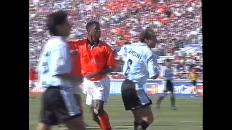 Argentina vs Netherlands World Cup QF 1998