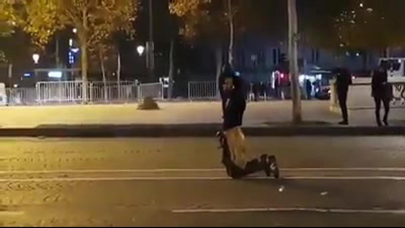 Africans rioting in Paris because Libyans are selling blacks into slavery in Libya