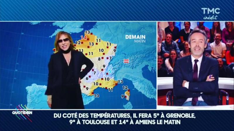 24/10/2010 Прогноз погоды на TF1 (France)