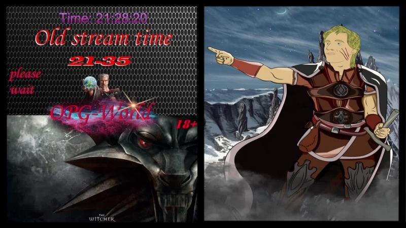 The Witcher: Rise of the White Wolf - Ночной атмосферный стрим.