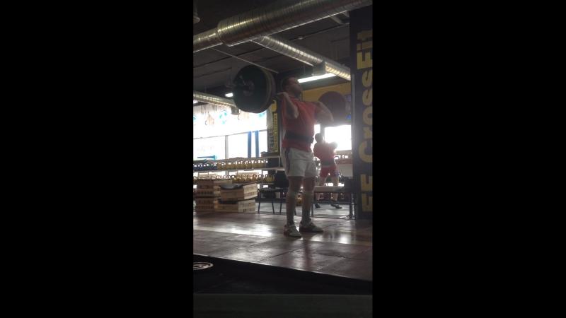 Толчок классический 120 кг.