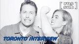 Josh Dallas and Melissa Roxburgh – Toronto interview [rus sub]