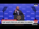 Trump angers France and Britain with his NRA speech