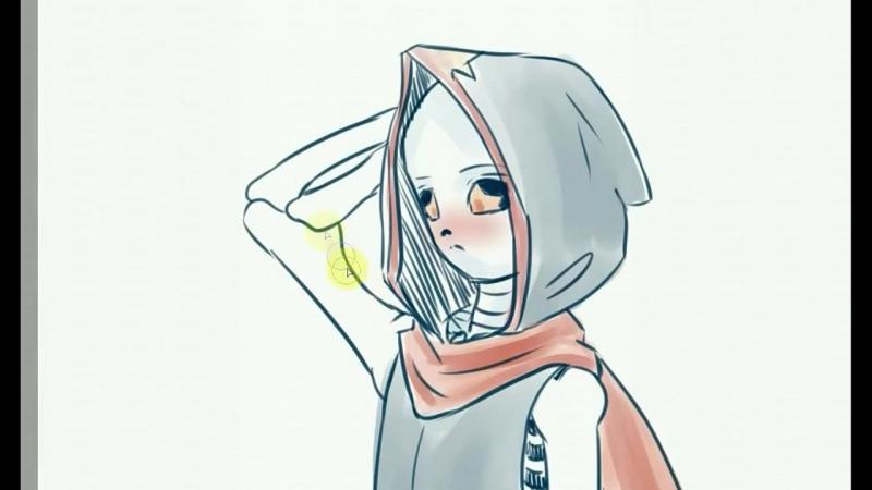 | Doodling | Pibidi and Gloom | Swapfell_AU |