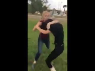 956 fight Harlingen Kayla vs. Alice