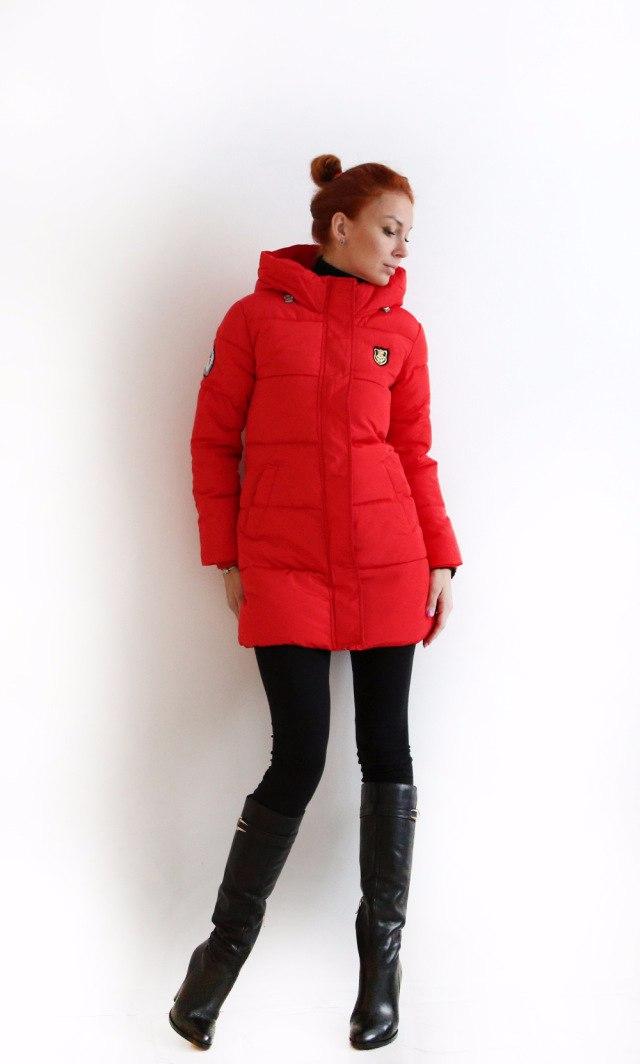 Удлиненная курточка на позднюю осень